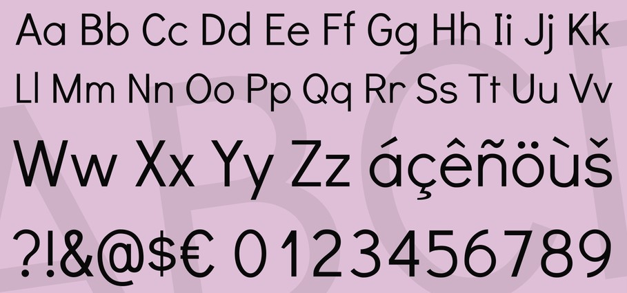Didact Gothic Font View