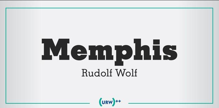 Memphis Font