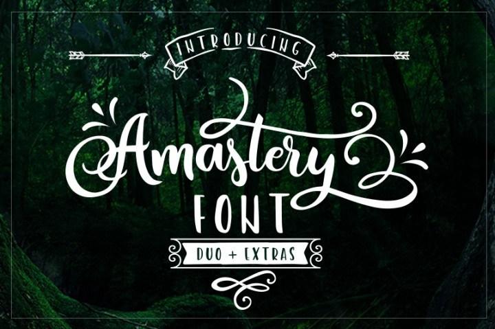 Amastery Font