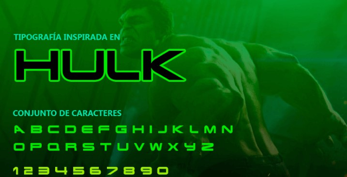 Hulk Font