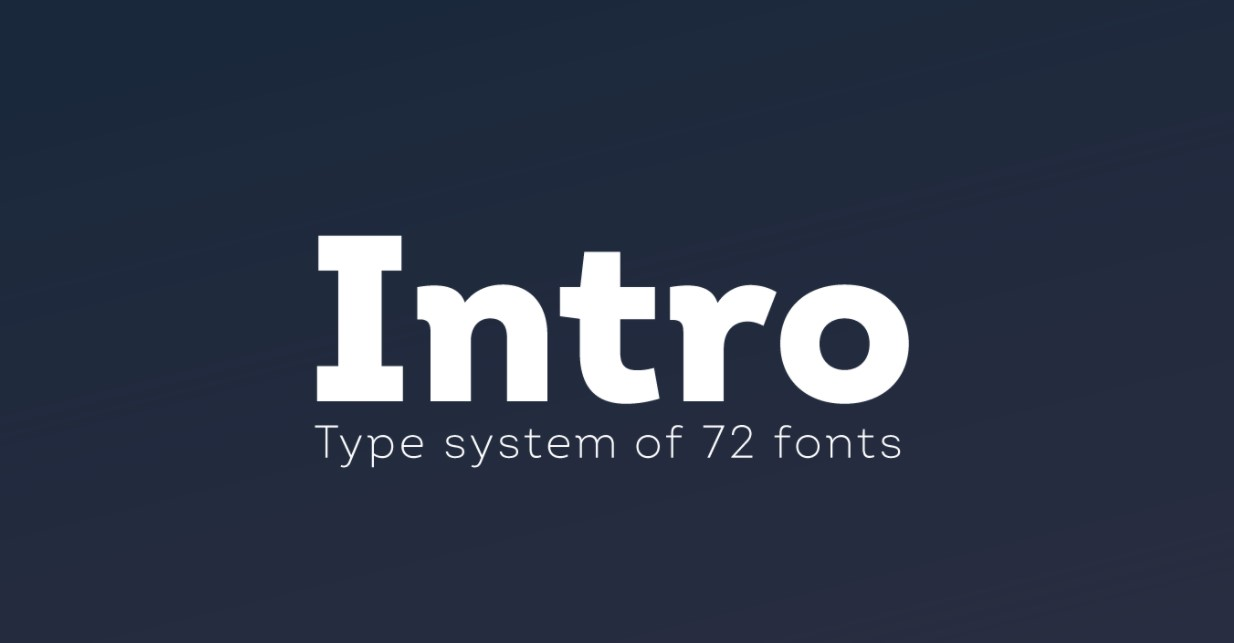 Intro Font