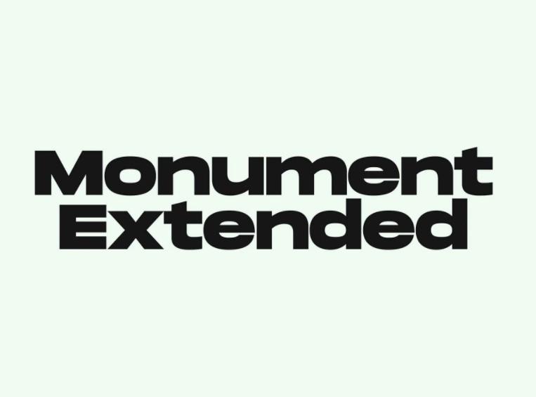 Monument Font View