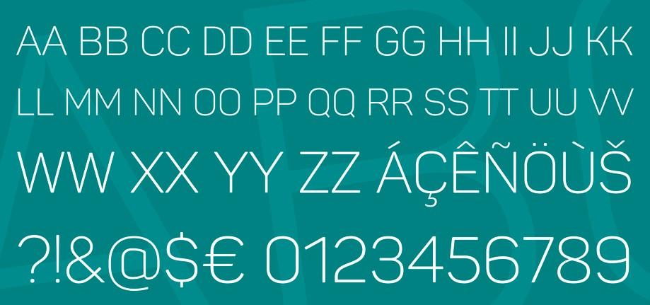Panton Font View