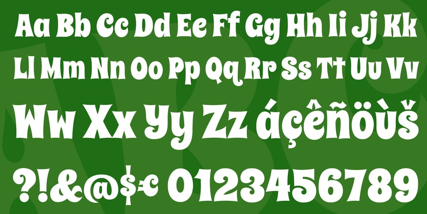 Spicy Rice Font View