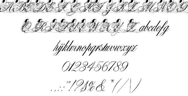 Al prince Font View