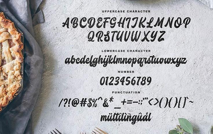 Butchery Font View