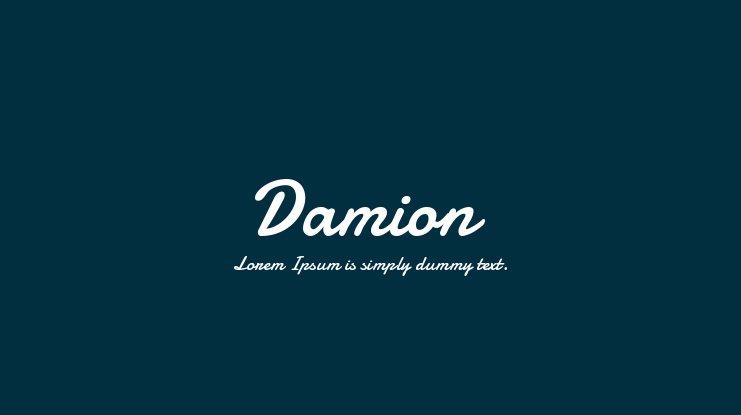 Damion Font