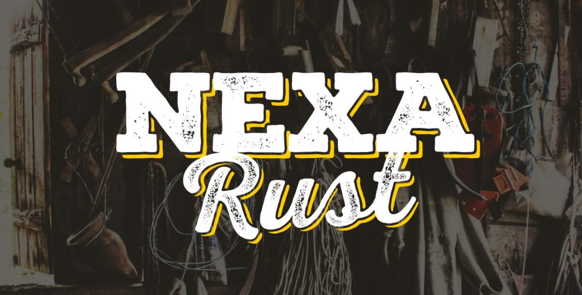 Nexa Rust Font