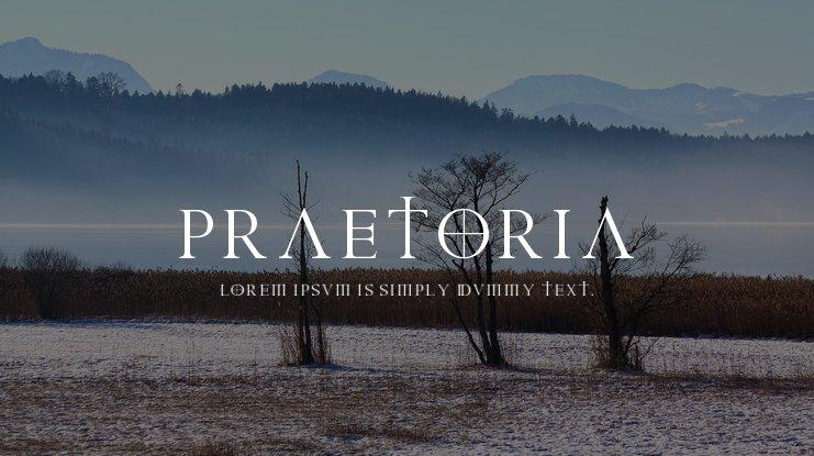 Praetoria Font