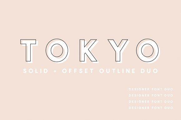 Tokyo Font