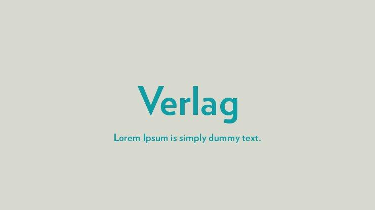 Verlag Font