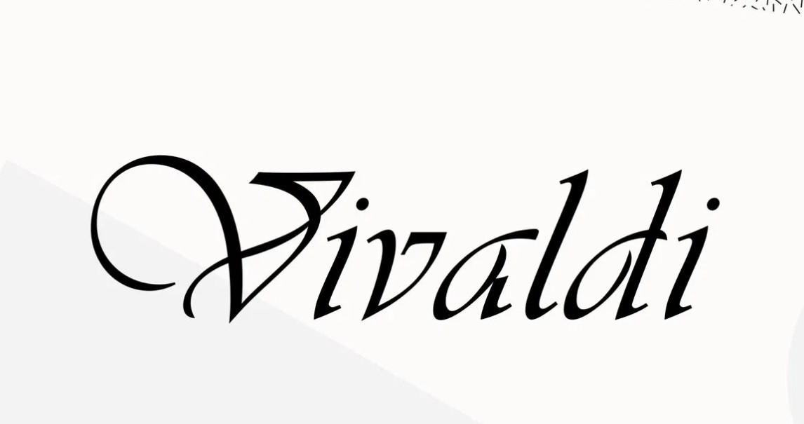 Vivaldi Font