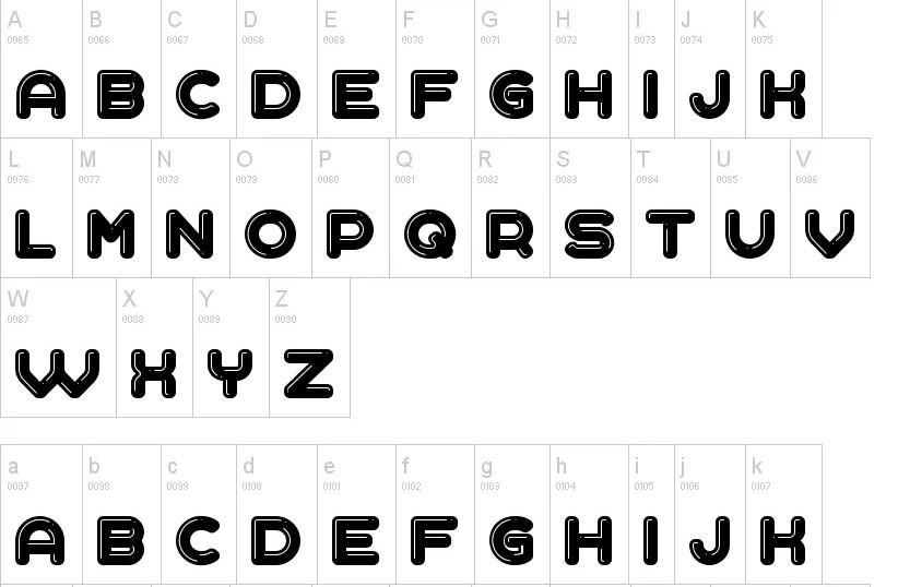 Liquid Font View