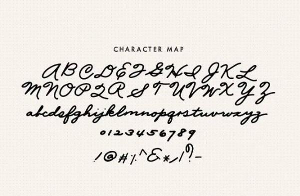 Mix Palmer Script Font View