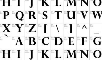Perpetua Font View